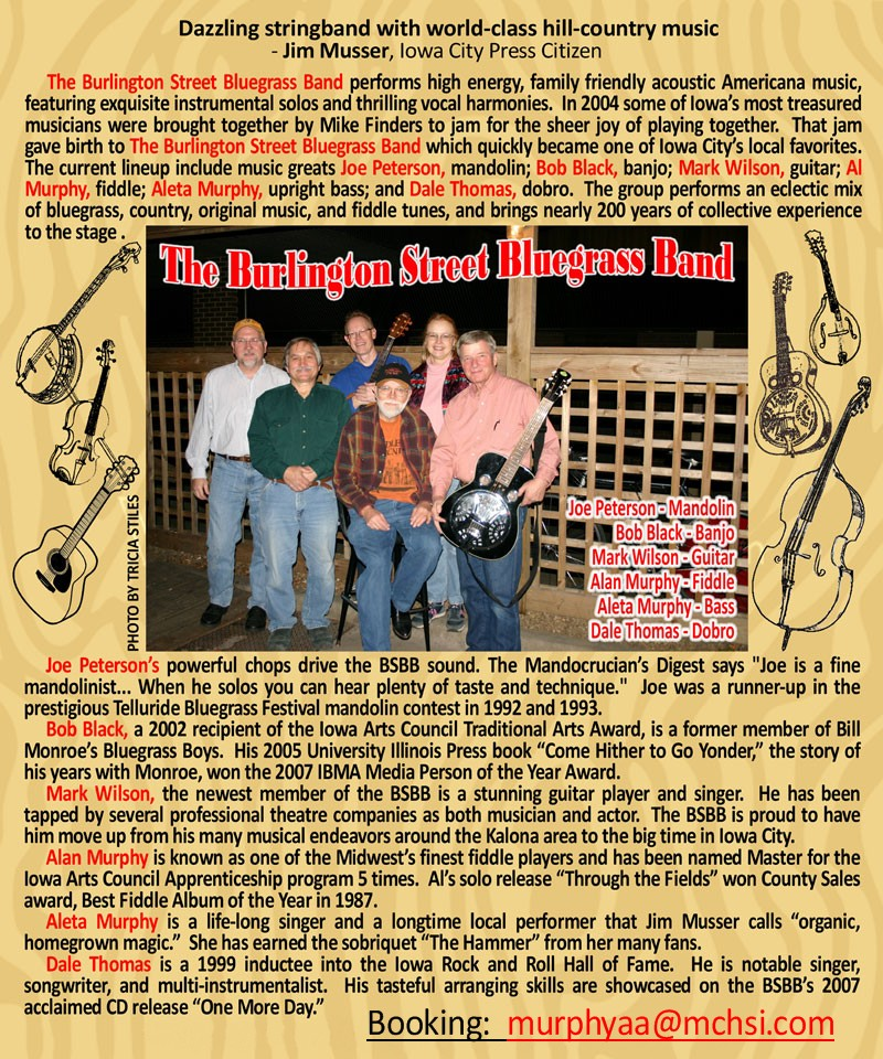 Burlington Street Bluegrass Band